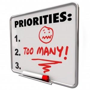 Prioriser action, tache et todo liste